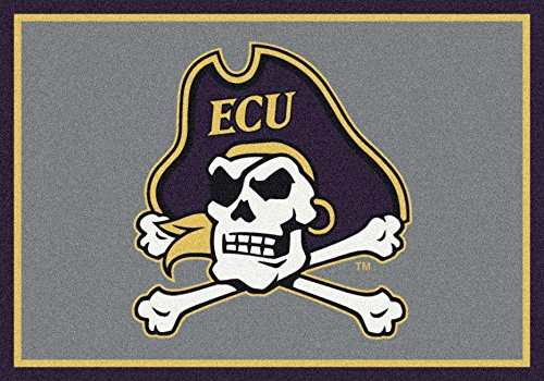 East Carolina Pirates Rug - Milliken Ncaa College Spirit Area Rug East Carolina Pirates 79803 5' 4
