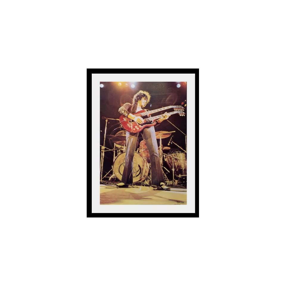 Led Zeppelin Jimmy page poster approx 34 x 24 inch ( 87 x 60 cm)new large