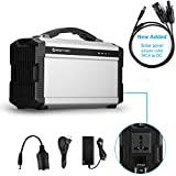 ACOPOWER 220Wh Portable Solar Generator for Camping, Lithium Ion...