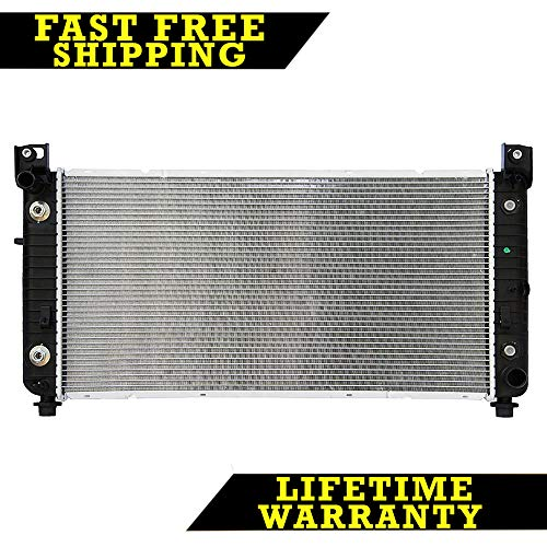 RADIATOR FOR CHEVY FITS SILVERADO SUBURBAN TAHOE YUKON WITH EOC 2370 (Radiator Escalade Cadillac Replacement)