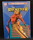 Golden Books 1991 Rocketeer Big Coloring Book by Rocketeer