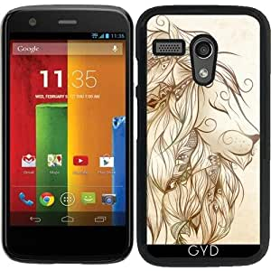 Funda para Motorola Moto G (Generation 1) - león poética by LouJah