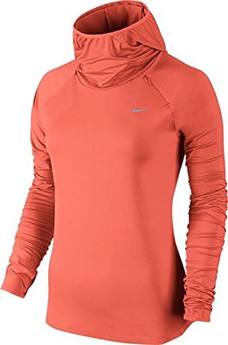 Nike para Mujer Element Sudadera con Capucha – XL – Luz de Rosas de Mango/