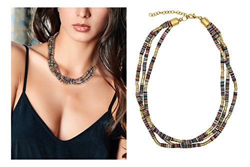 3 Strand Multi-Colored Necklace | SPUNKYsoul Collection