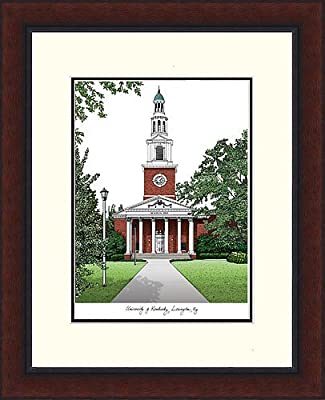 University of Kentucky Legacy Alumni Exquisitely Framed Lithograph