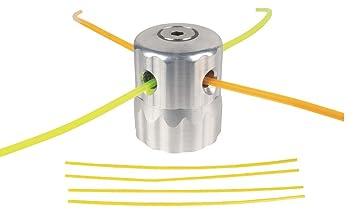 Cabezal multihilos Universal de Aluminio Tipo scarabeo con ...