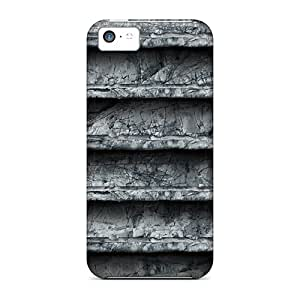 Series Skin Case Cover For Iphone 5c(stone Shelf)