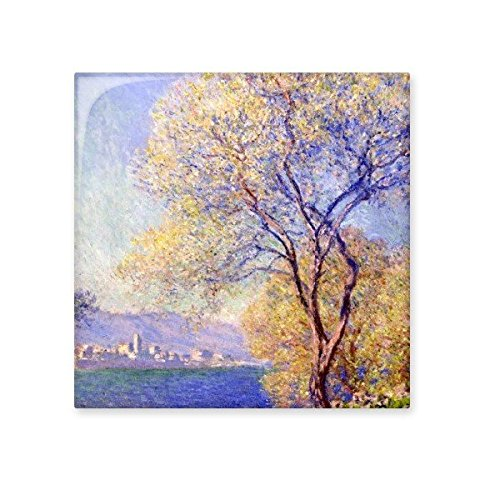 low-cost lakeside Claude Monet Famous oil paintings impressionism oils Ceramic Bisque Tiles for Decorating Bathroom Decor Kitchen Ceramic Tiles Wall Tiles