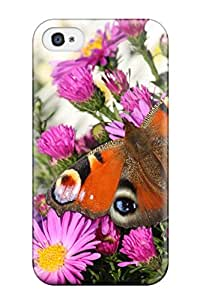 David Dietrich Jordan's Shop New Style 5603284K48540718 New Arrival Cover Case With Nice Design For Iphone 4/4s- Peacock Butterfly