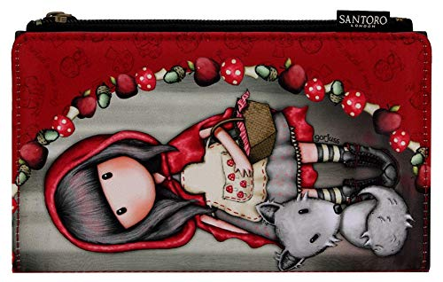 e0198895590 Santoro Gorjuss Large Wallet - Little Red Riding Hood - 871GJ02 ...