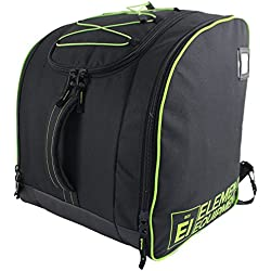 Element Equipment Boot Bag Deluxe Snowboard Ski Backpack Lime New for 2018