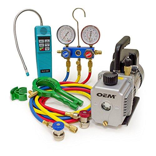[해외]OEMTOOLS 68988 C 프로페셔널 세트 - R134a/OEMTOOLS 68988 A C Professional Set - R134a