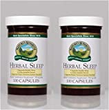 Nature's Sunshine Herbal Sleep 100 Capsules (Pack of 2) For Sale