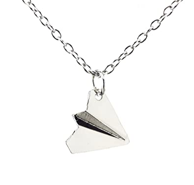 Amazoncom Fun Daisy Harry Styles Paper Airplane Necklace With - Box paper airplane