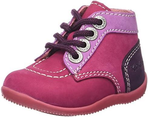 Unisex Baby Bonbon Langschaftstiefel, Pink