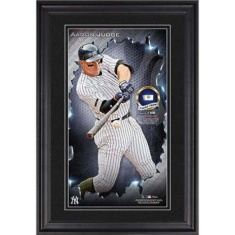 Aaron Judge New York Yankees Vertical Framed 10 X 18 Photograph