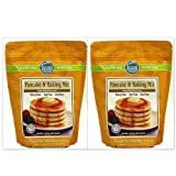 Authentic Foods Pancake & Baking Mix - 1.25 Lb Each - 2 Pack