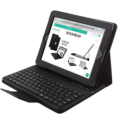 Keyboard Folding Leather Removable Bluetooth product image