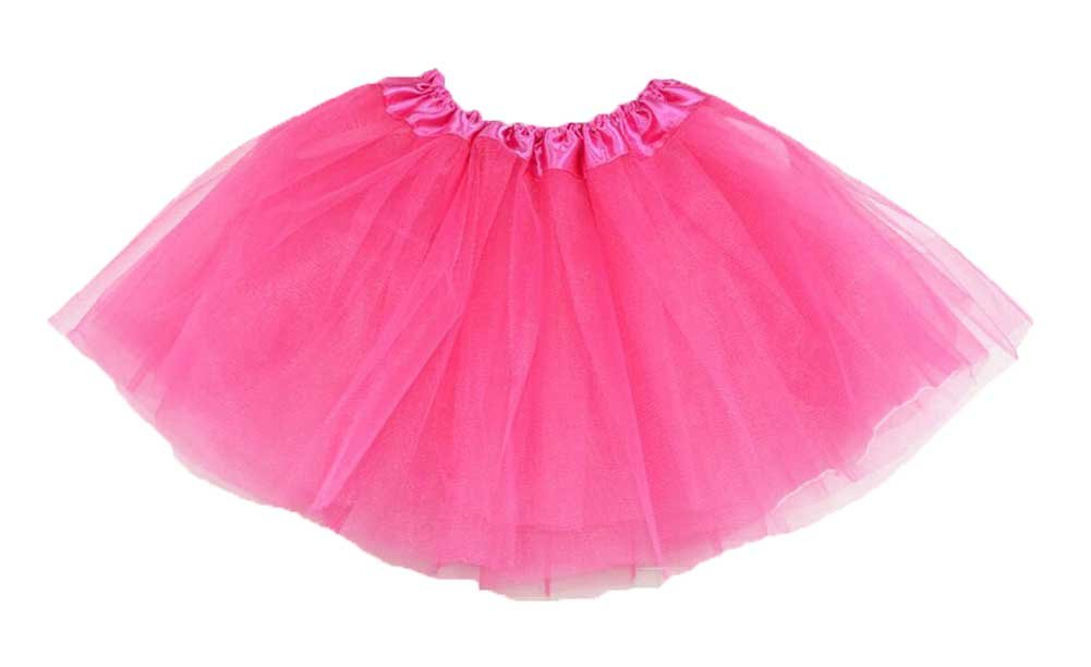 Girls Hot Pink Tutu Dress Up Play Amazoncouk Toys Games