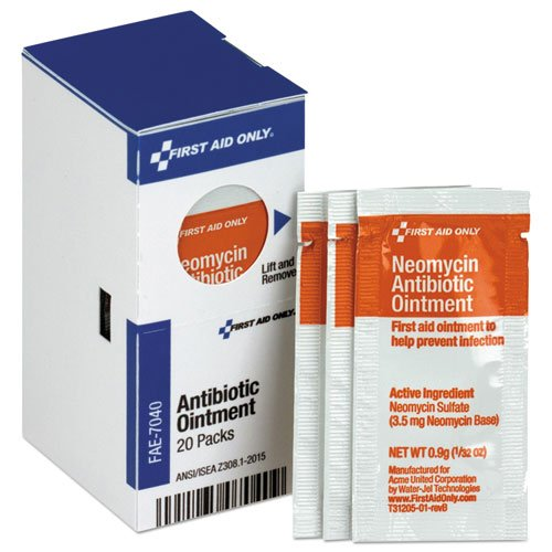Refill For Smartcompliance Gen Cabinet, Antibiotic Ointment, 0.9G Packet, - Antibiotic Neomycin Ointment