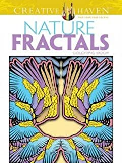 creative haven nature fractals coloring book adult coloring