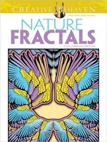 Creative Haven Nature Fractals Coloring Book Adult Mary Agredo Javier 0800759494989 Amazon Books