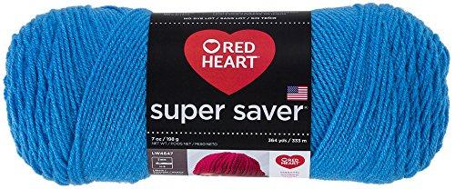 RED HEARTSuper Saver Yarn, Delft Blue