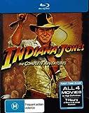 Indiana Jones the Complete Adventure Blu Ray Boxset Limited Edition [Blu-ray]