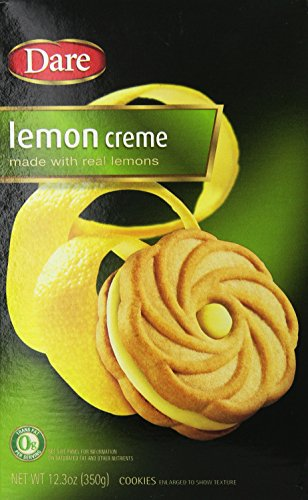 Dare Cookie Lemon Creme (Pack of 2)