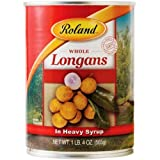 Roland Longans In Heavy Syrup, 20-Ounce Cans (Pack of 6)