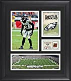 """Malcolm Jenkins Philadelphia Eagles Framed 15"""" x 17"""" Collage with Game-Used Football - Fanatics Authentic Certified"""