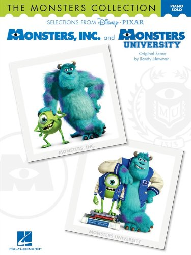 The Monsters Collection: Selections from Disney Pixar's Monsters, Inc. and Monsters University