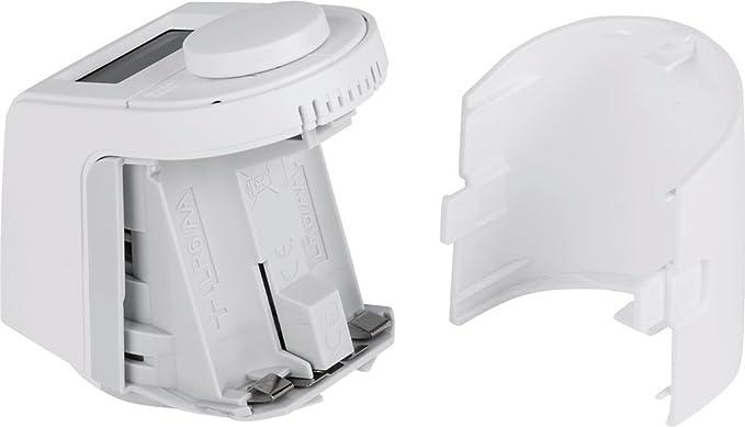 Termostato de radiador Eqiva, Blanco, 143478A0: Amazon.es: Bricolaje y herramientas