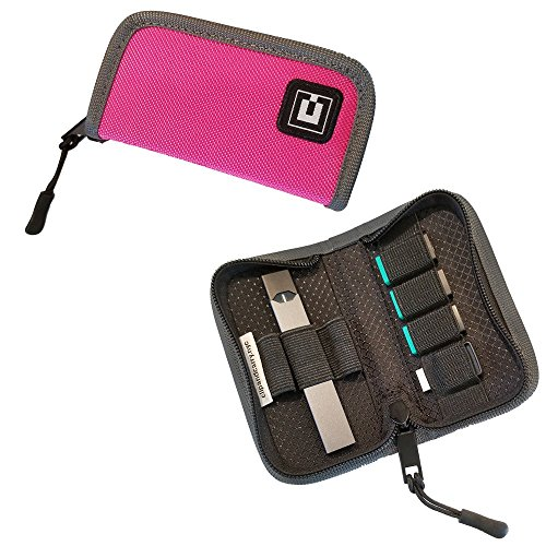 (Carrying Case Wallet Holder for JUUL and Other Popular Vapes | Holds Vape, Pods and Charger | Fits in Pockets or Bags (Device Not Included))