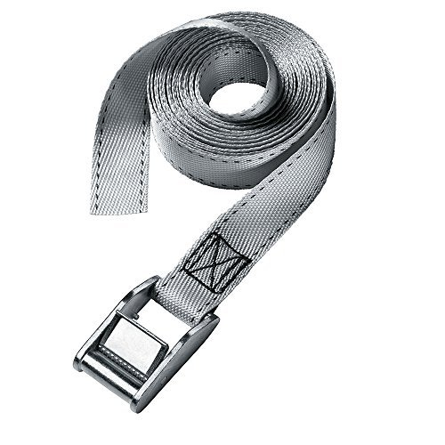Master Lock 3060DAT 4 Pack 12ft. x 1in. Lashing Strap, Gray by Master Lock (Image #1)