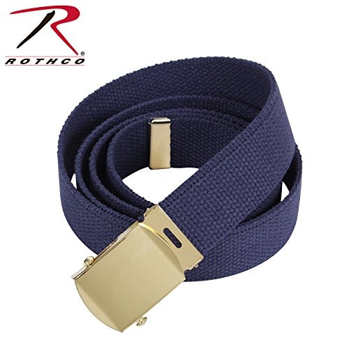 Authentic Military Web Belt   Navy