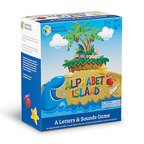 51tDL1jiu1L - Learning Resources Alphabet Island A Letter & Sounds Game