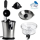 Electric Citrus Juicer Fruit Machines - Stainless