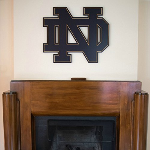 South Bend Woodworks Notre Dame Block ND Wooden Wall Hanging - The Rock