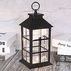 "Decorative Lanterns for Indoor 14"" Hanging Bl"