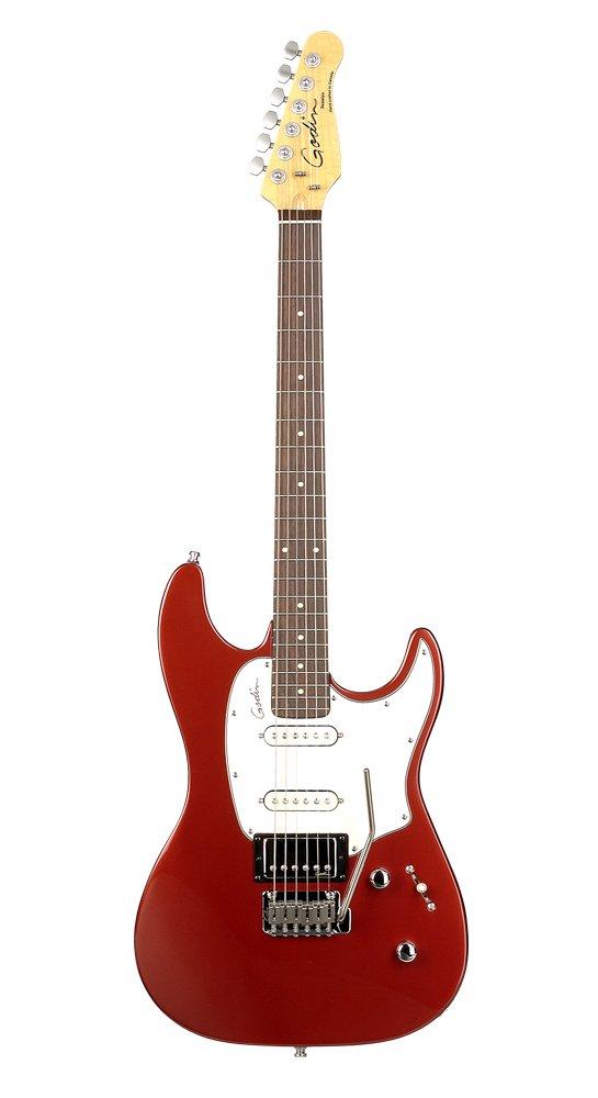 Godin Session Guitarra eléctrica - eléctrico rojo HG RN: Amazon.es ...