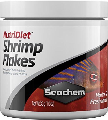 Seachem Nutridiet Shrimp Flakes with Probiotics 30g/ 1 oz