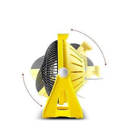 CSXZ2 Calentador Home Office Estufa De Asar Mini Dormitorio para Estudiantes Calentador Eléctrico Calentador Pequeño Amarillo