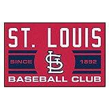 FANMATS 18484 St Louis Cardinals Baseball Club Starter Rug