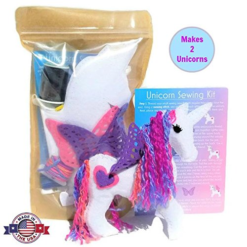 Wildflower Toys Unicorn Sewing Kit for Girls