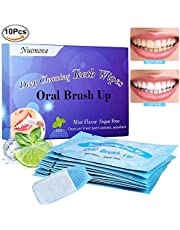 Teeth Whitening Strips, Teeth Whitening, Teeth Cleaning Strips, Teeth Wipes, Teeth Cleaning Oral Care, Perfect for Camping, Traveling, Cleaning Teeth for Everyday, 10PC