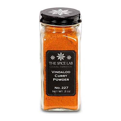 The Spice Lab No. 227 - Vindaloo Curry Powder - All Natural Kosher Non GMO Gluten Free, French Jar