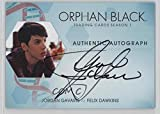 Jordan Gavaris; Felix Dawkins (Trading Card) 2016 Cryptozoic Orphan Black Season 1 - Autographs #JG