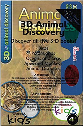 Chick-fil-A 3D Animal Discovery: Animal Disguises: No author listed: Amazon.com: Books