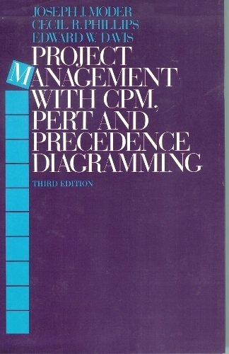 Project Management With Cpm, Pert and Precedence Diagramming